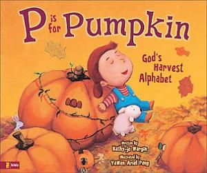 p is for pumpkin book