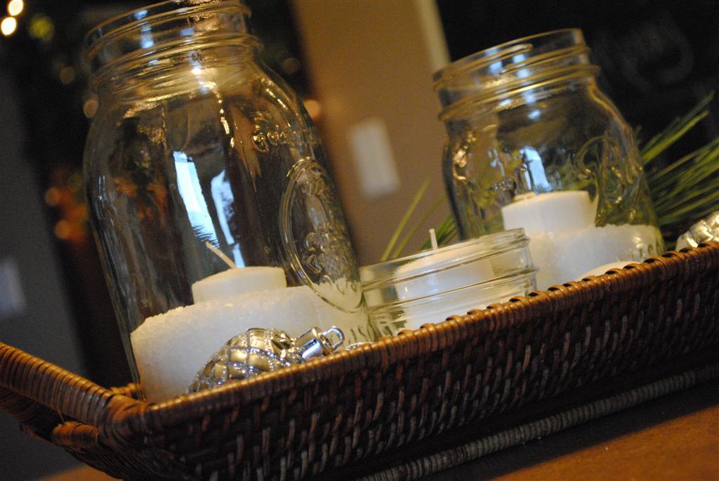 mason jars - Pinterest Decorating