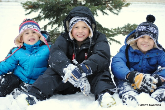 boys in snow dec 12
